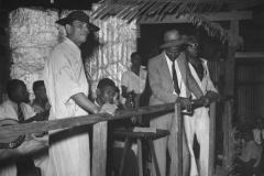 calypso-tent-in-Trinidad-1941-David-E.-Scherman-photo