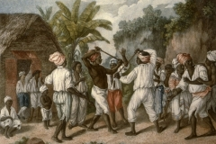 Stick-Fighting-Dominica-West-Indies-1779