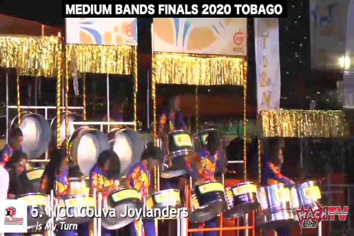 COUVA JOYLANDERS  PANORAMA 2020 – Medium Band Finals