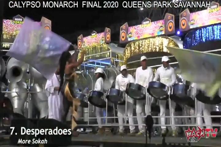 DESPERADOES PANORAMA 2020 – Large Bands Finals