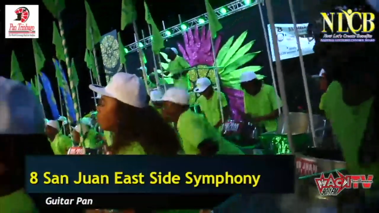 SAN JUAN EAST SIDE SYMPHONY PANORAMA 2020 – Single Pan Finals