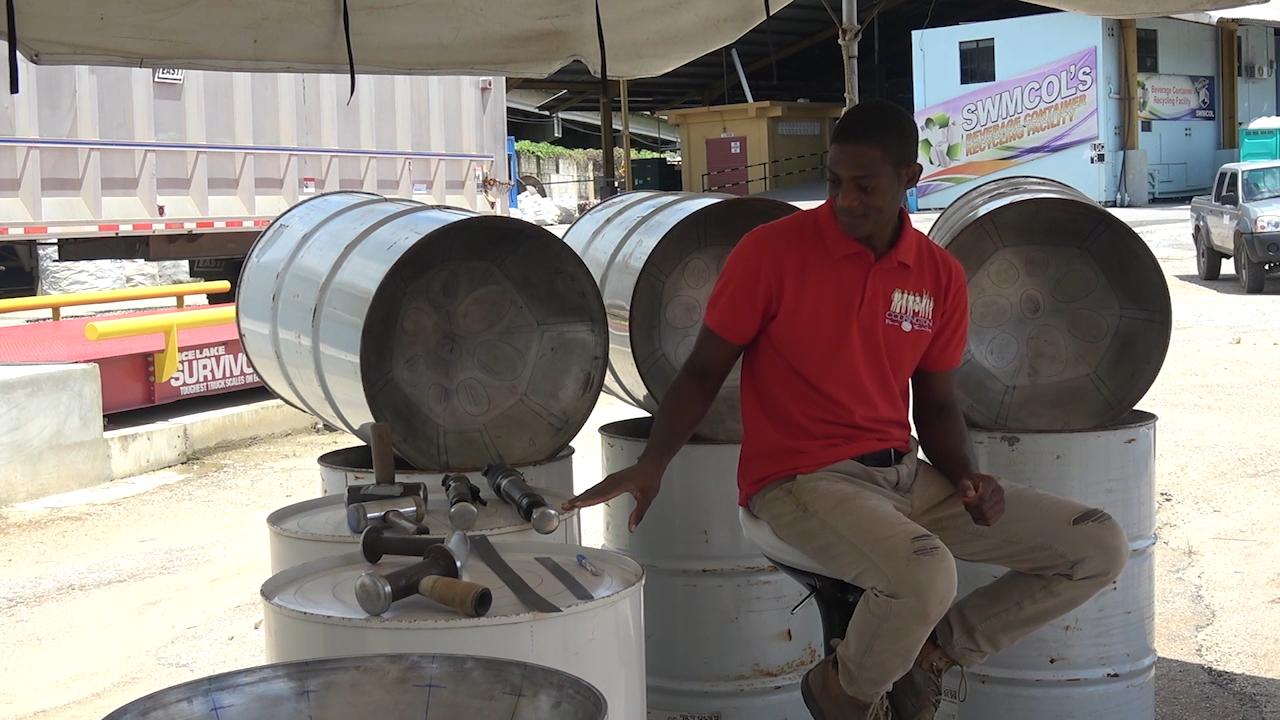 The Steel Pan Making Process