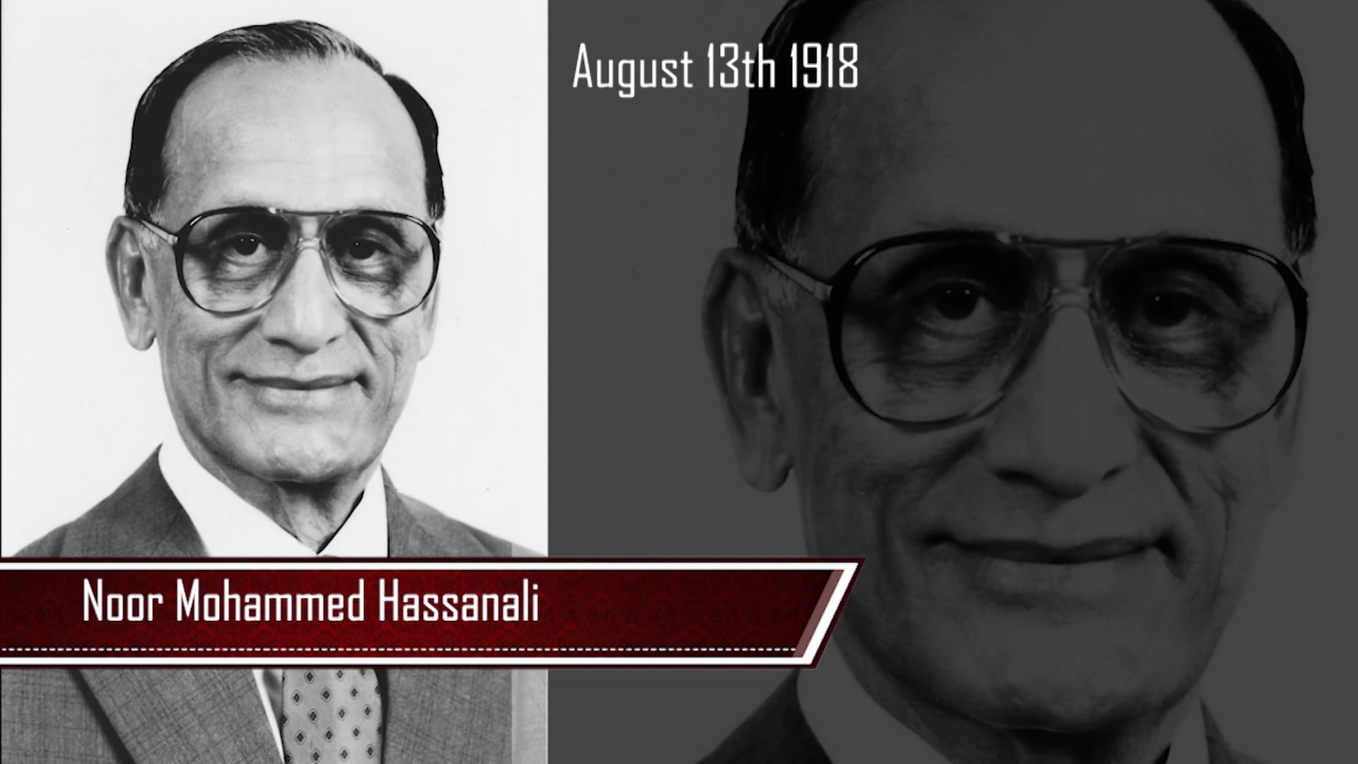 PRESIDENTS OF THE PAST – Mr. Noor Mohammed Hassanali