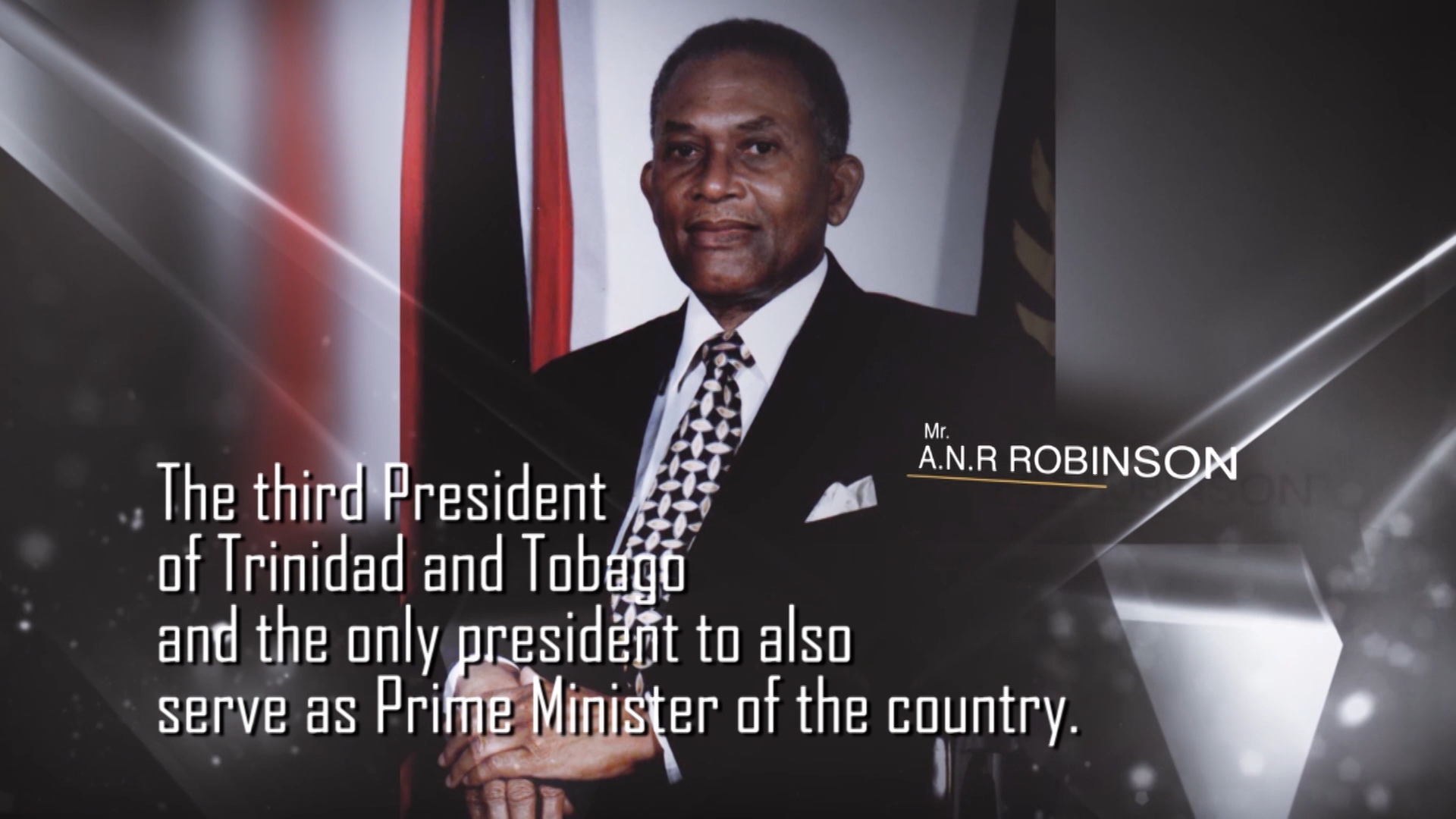 PRESIDENTS OF THE PAST – Mr. A.N.R Robinson
