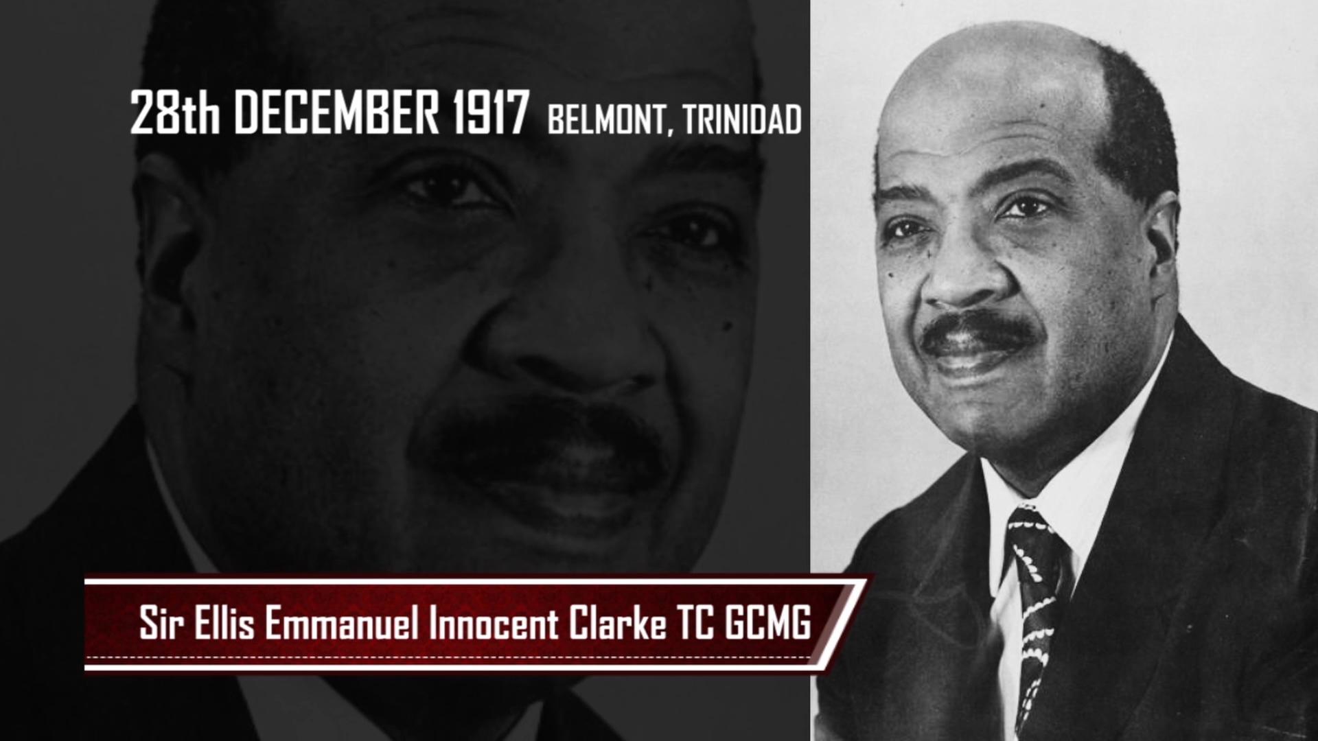 PRESIDENTS OF THE PAST- Sir Ellis Emmanuel Innocent Clark